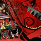 Fear and Anger (Collage on board 1200x800cm)