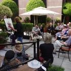 Final demonstration in hotel garden Buenos Aires