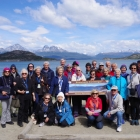 Group photo at Tierra del Fuego National Park