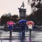 Punta Arenas rainy day study