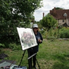 Painting-in-the-garden