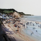 En-plein-air-demo-from-Sidmouth-lookout-