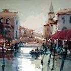 Chioggia Canal (WC, en plein air 74x54cm)