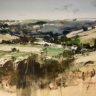 Moorabool Valley (WC, en plein air 74x54cm) SOLD