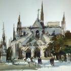 Back of Notre Dame (74 x 54cm)