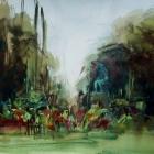 Painting of Le Jardin des Plantes