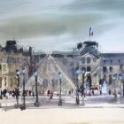 Louvre (74 x 45cm)