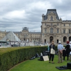 Painting the Louvre (2)
