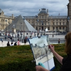 Painting the Louvre