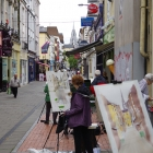Group painting Cook St Cork