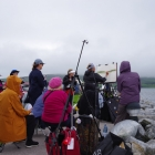 Group painting at Dingle