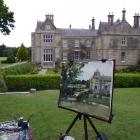 Muckross House Killarney with painting