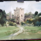 Painting of Blarney Castle