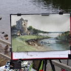 Painting of Ross Castle 2