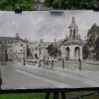 Painting of Trinity College