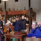 Some of  us at Jameson Distillery