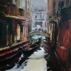 Quiet Canal Venice