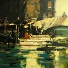 Venetian Canal Boats
