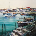 Studio painting of the Algarve SOLD