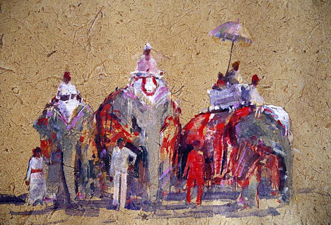 Elephant Parade (WC 60x50cm local hand made paper)_edited-1