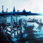 Across The Lagoon Venice (Oil, 1000 x1000cm)