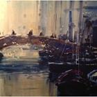 Chioggia Canal (WC, 74 x54cm) SOLD