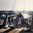 The Helmsman (WC, 74x64cm) SOLD