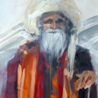 The Sadhu (WC 54x74cm)
