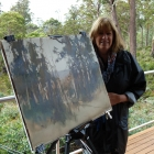 Finished painting from the Cradle Mountain Hotel