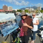 Painting at Constitution Dock