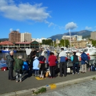 The group at Constitution Dock