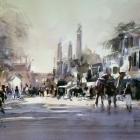 Agra-Street-Scene-WC-(32-x-23cm)