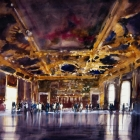 The-Doges-Palace,-Venice-WC-(90-x-75cm) SOLD