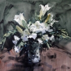 White-Lillies-in-a-Crystal-Vase-WC-54-x-74cm