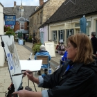 Painting Talbot Crt Stow-on-the-Wold