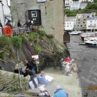 Painting at Polperro