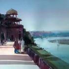 Behind The Taj