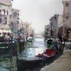 En Plein Air Canal Venice