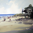 Cottesloe-Beach-Fremantle-Western-Australia-WC-70-x-50cm