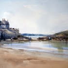 Front Beach St Malo (WC 74x54cm)
