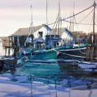 Mevagissey (WC, 74 x 54cm) SOLD