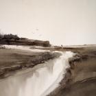 Otter-River-Budleigh-Salterton-UK-WC-53-x-35cm