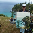 Painting from Anson Bay