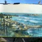Painting from Flagstaff Hill