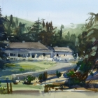 Painting of Government House Kingston