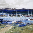 Painting of Ushuaia