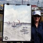 En-plein-air-painting-of-Heybridge-Basin