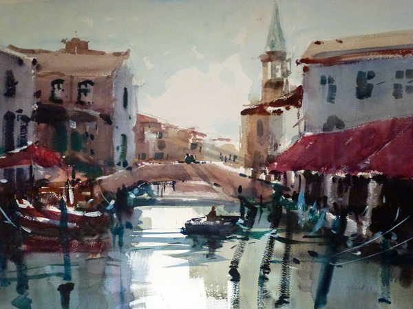 Chioggia Canal on Art Steps