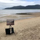 Beach painting of Cairns-foreshore