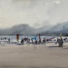 Painting-of-Four-Mile-Beach-Port-Douglas